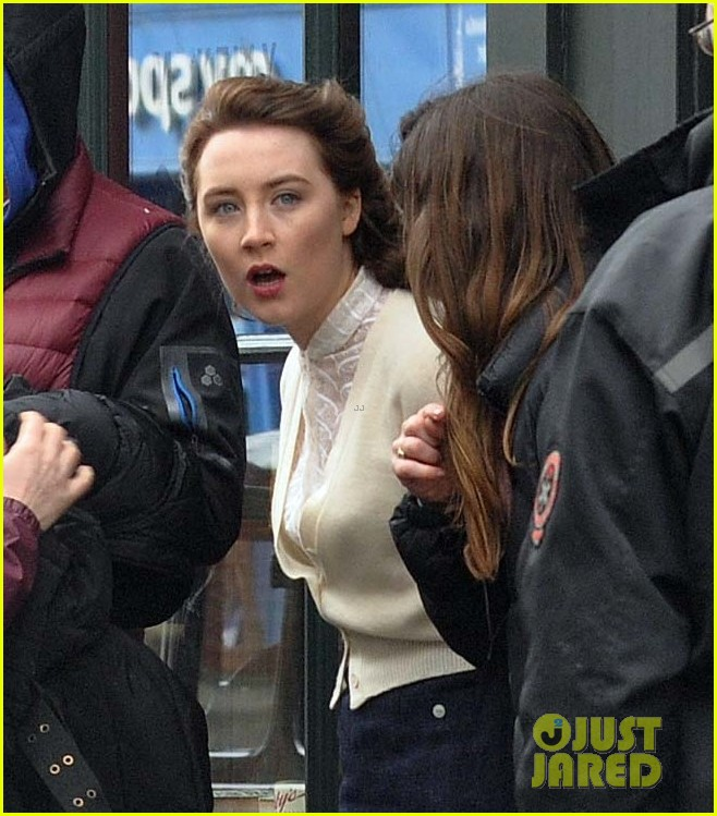 saoirse ronan begins filming brooklyn in ireland 13