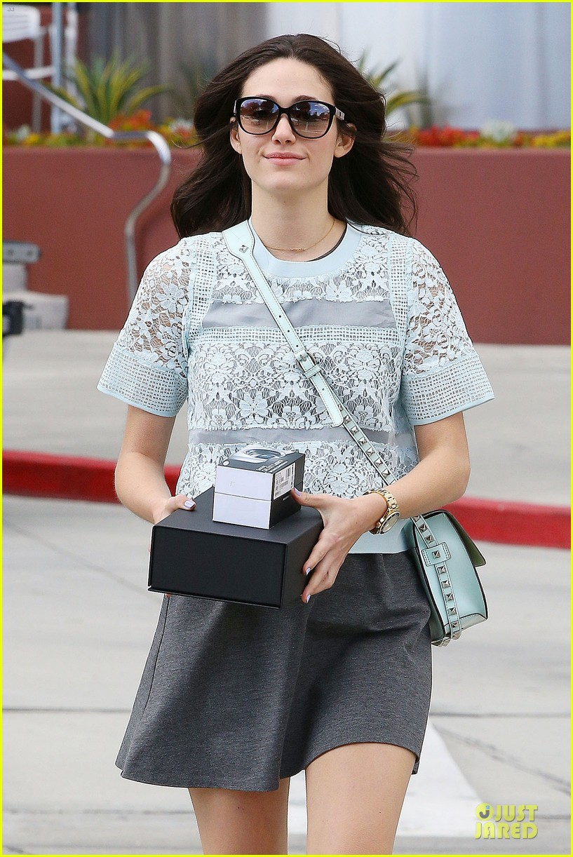 emmy rossum brings sexy back to candy necklaces 113083588