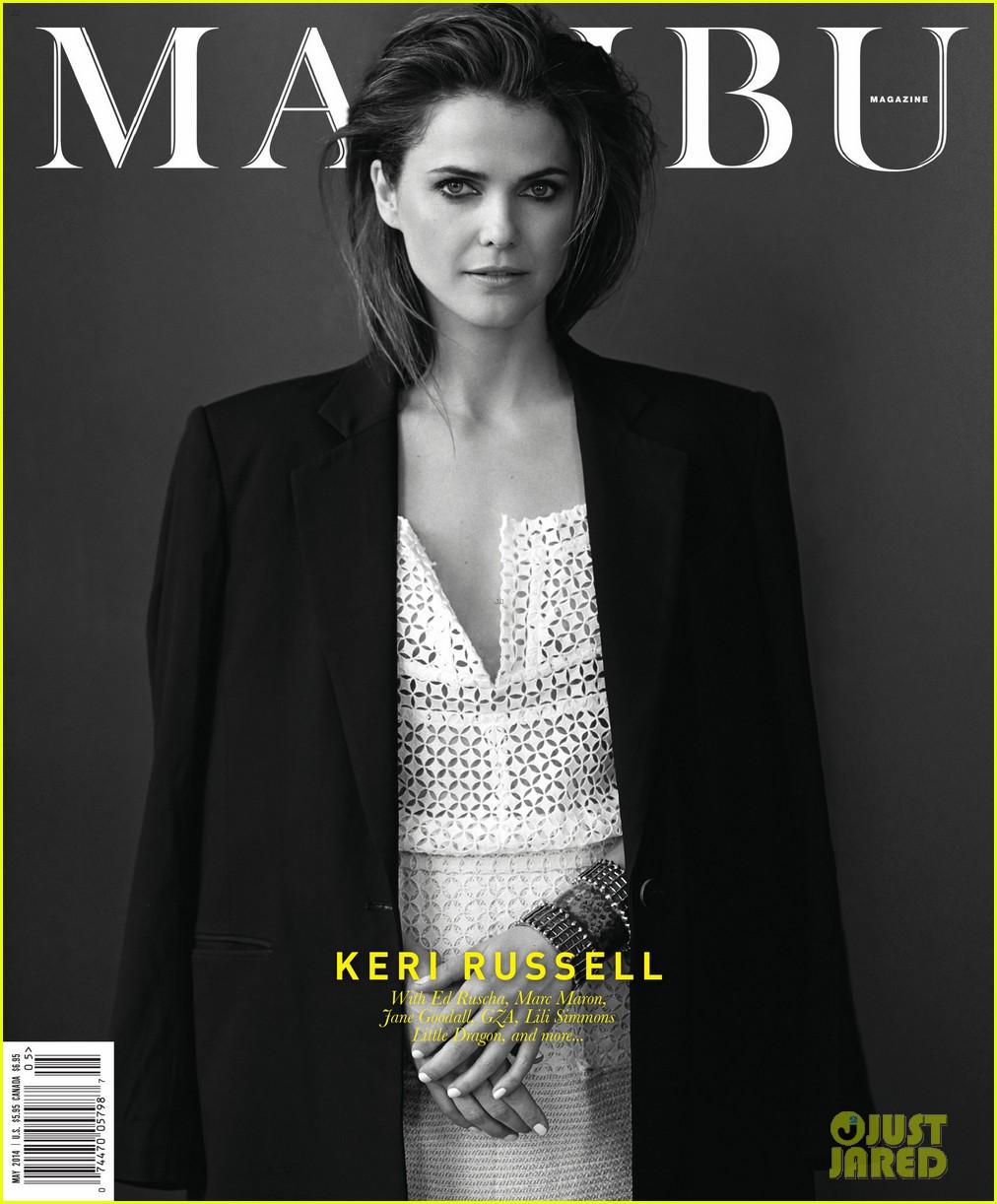 keri russell malibu magazine 01
