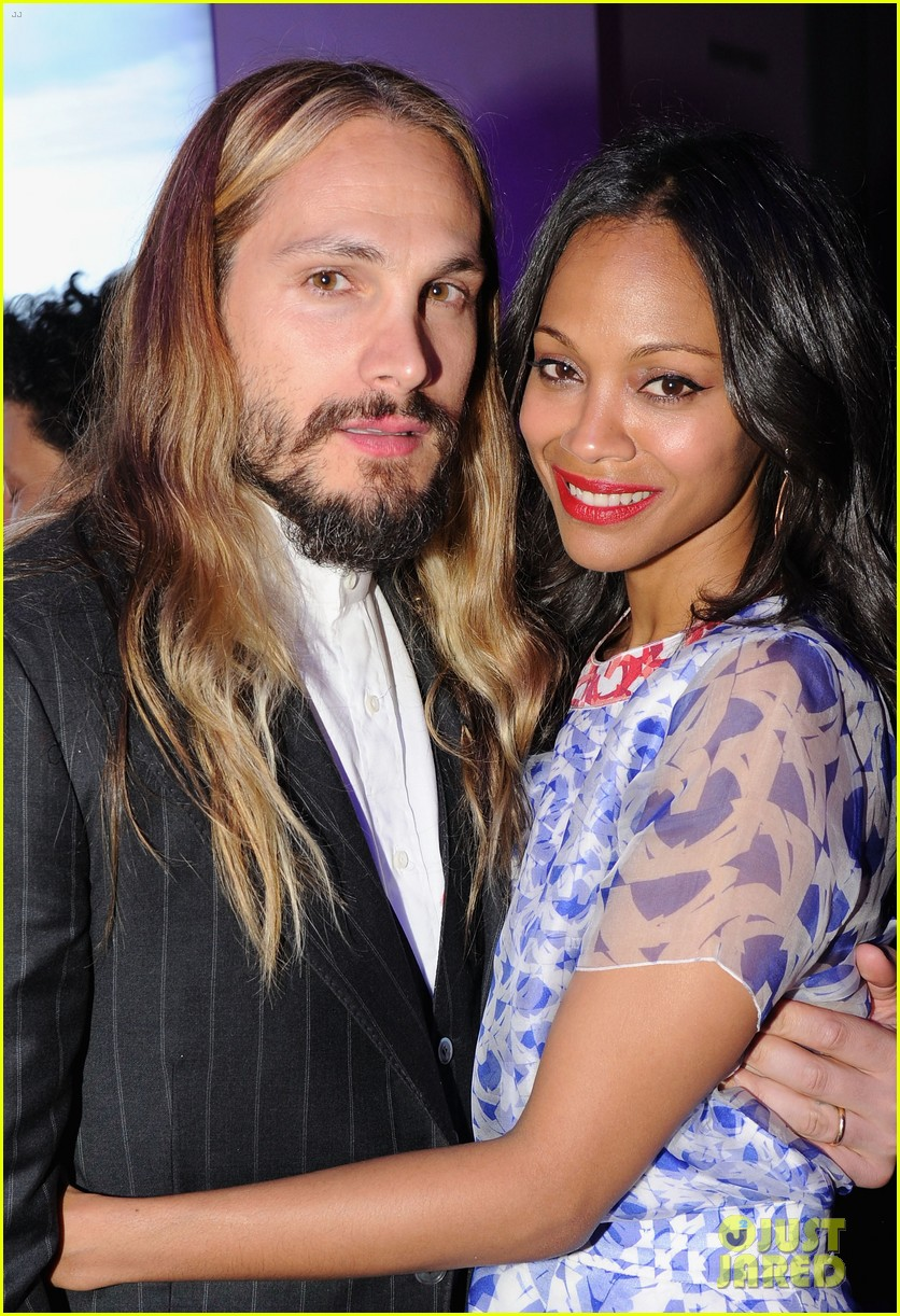 zoe saldana marco perego first appearance together 193101871