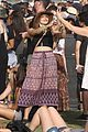 sarah hyland katharine mcphee hats coachella 12