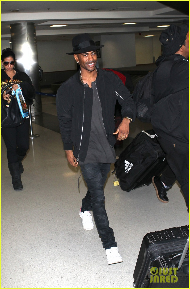 big sean steps out after naya rivera split 01