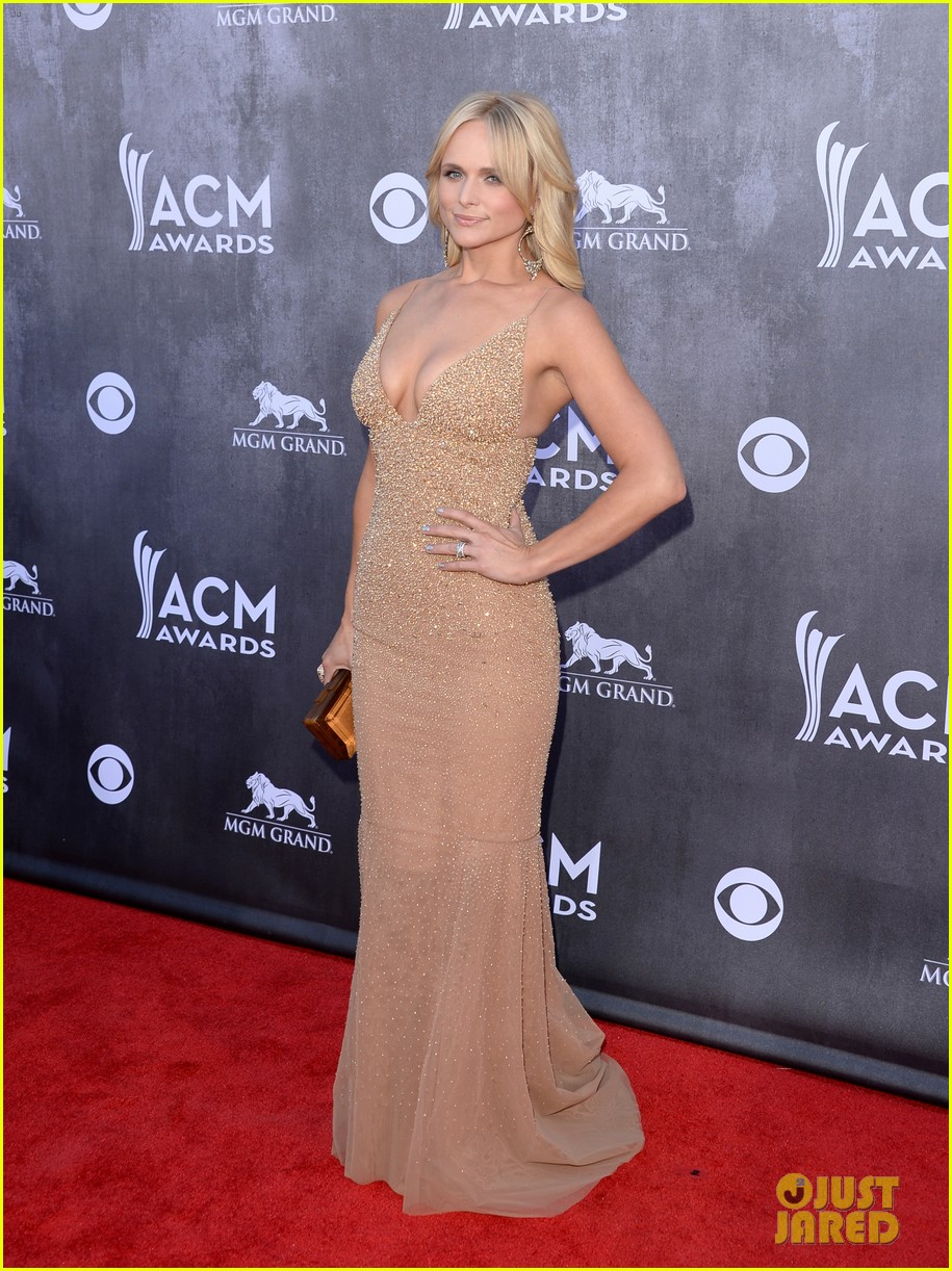 blake shelton miranda lambert acm awards 2014 red carpet 12