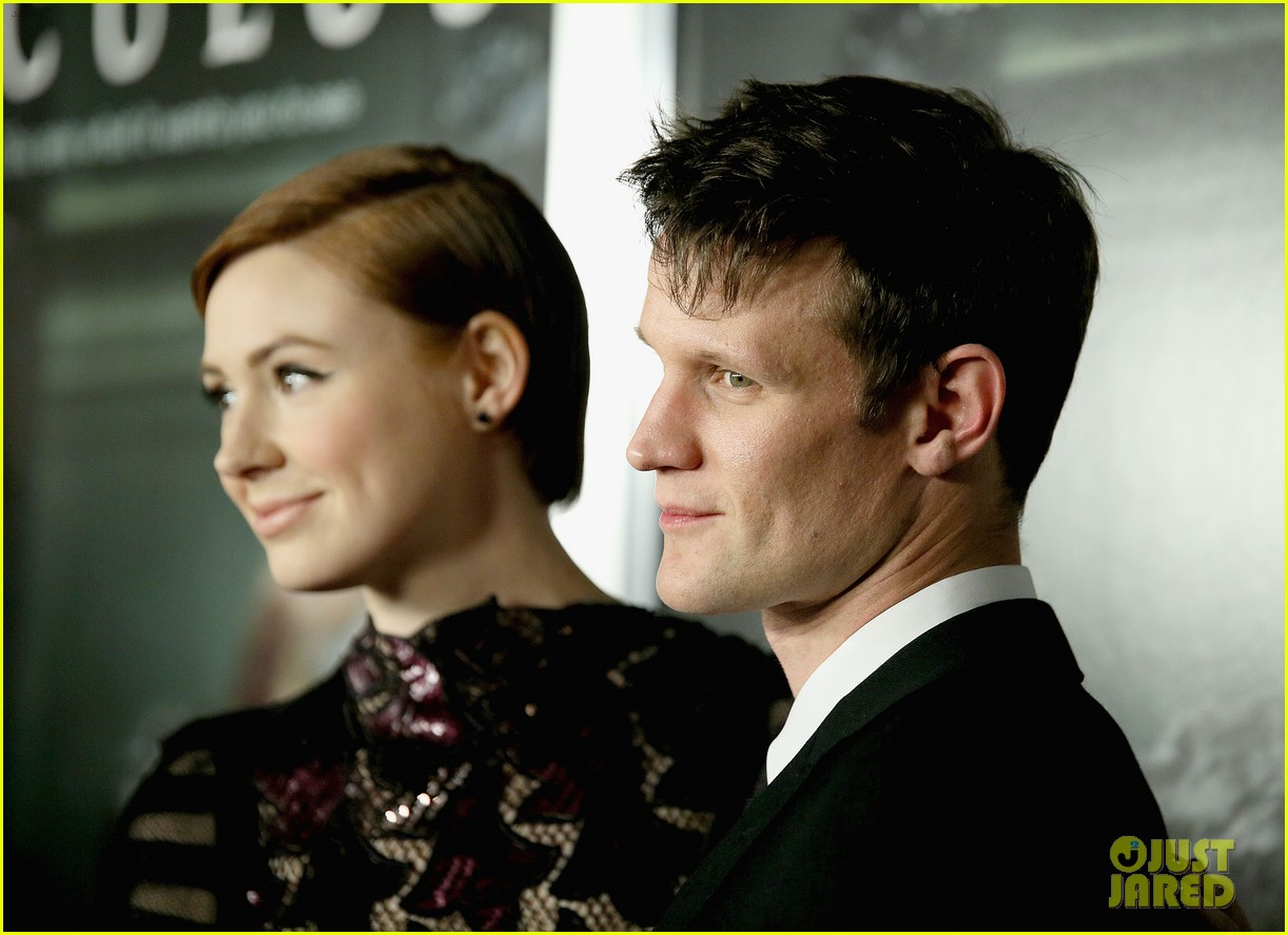 doctor who matt smith karen gillan oculus premiere 063084381