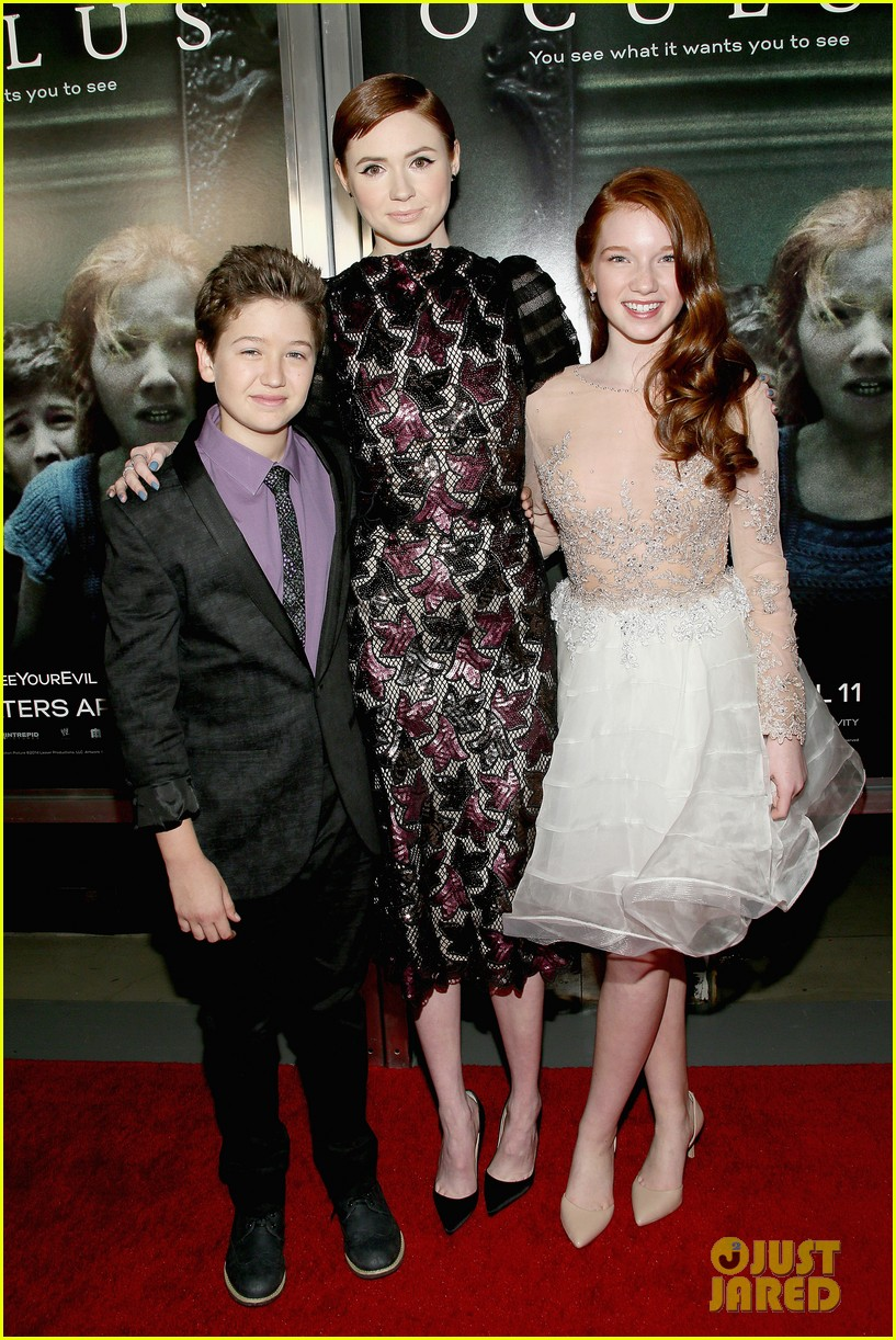 doctor who matt smith karen gillan oculus premiere 203084395
