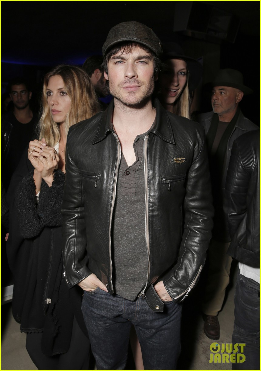 ian somerhalder makes out with a painting 01