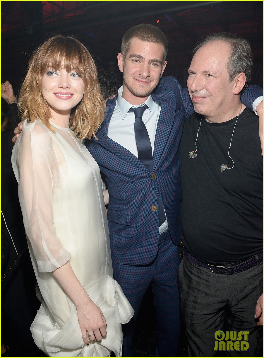 emma stone slips into another dress for amazing spider man 2 after party 24