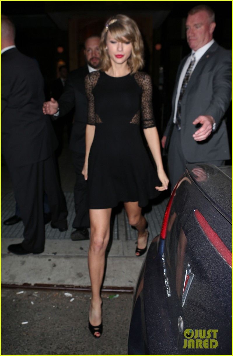 taylor swift ed sheeran saturday night live party 103090776