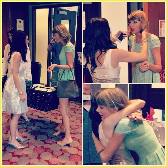 taylor swift proves shes awesome by surprising fan at bridal shower in ohio 033091642