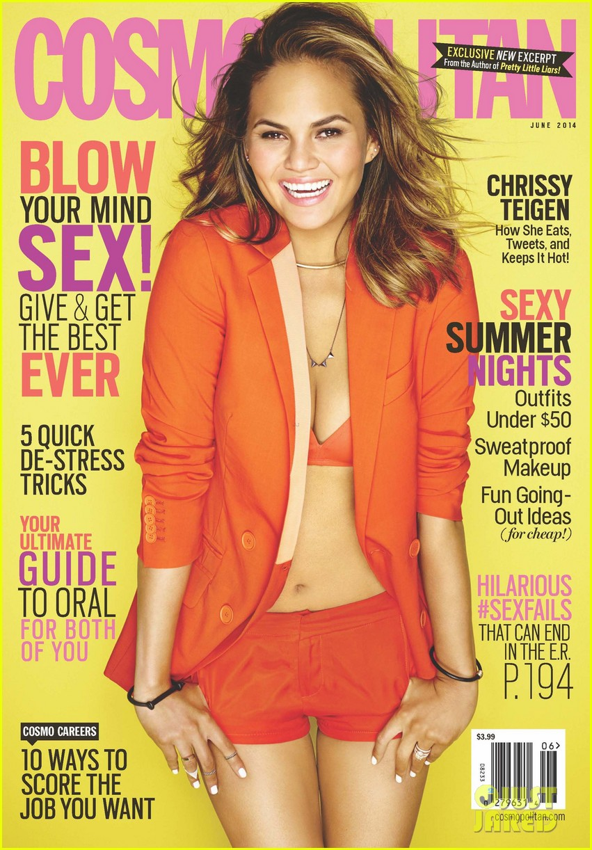 chrissy teigen covers cosmopolitan june 2014 02