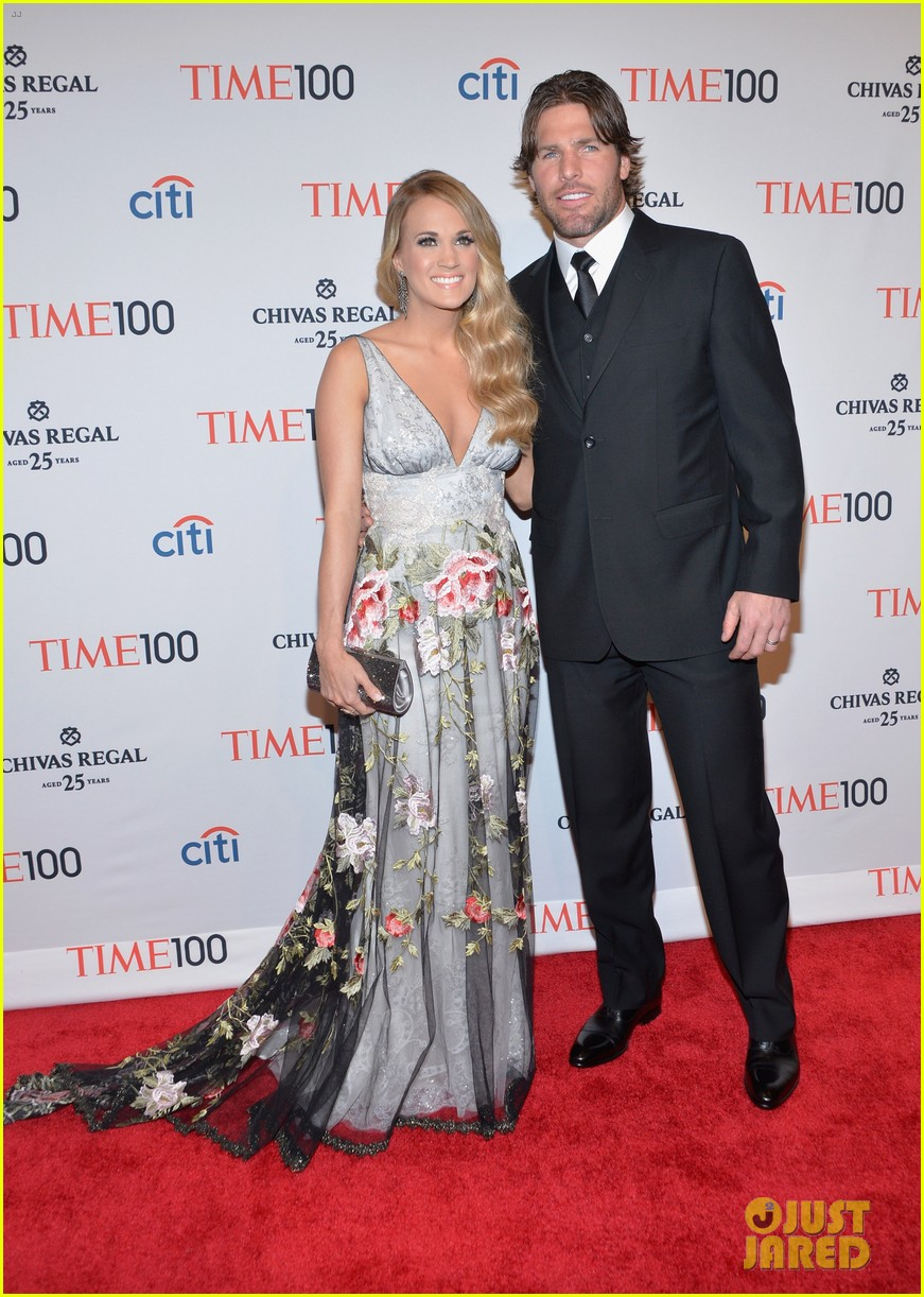 carrie underwood mike fisher time 100 event 043101805