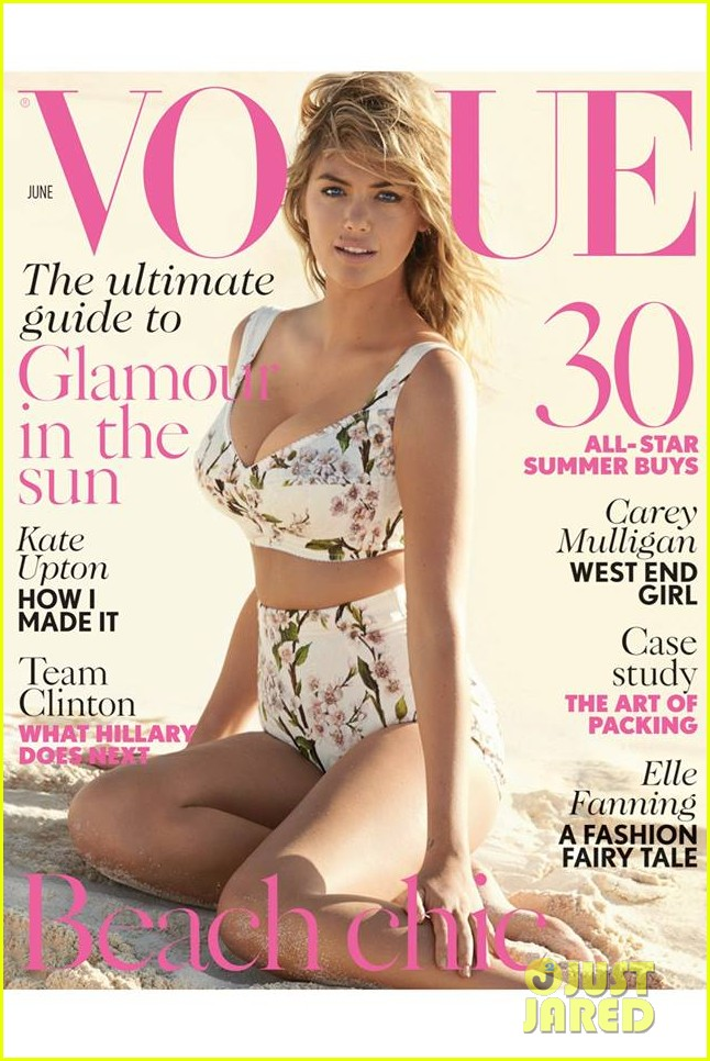 kate upton beach chic for british vogue june 2014 01