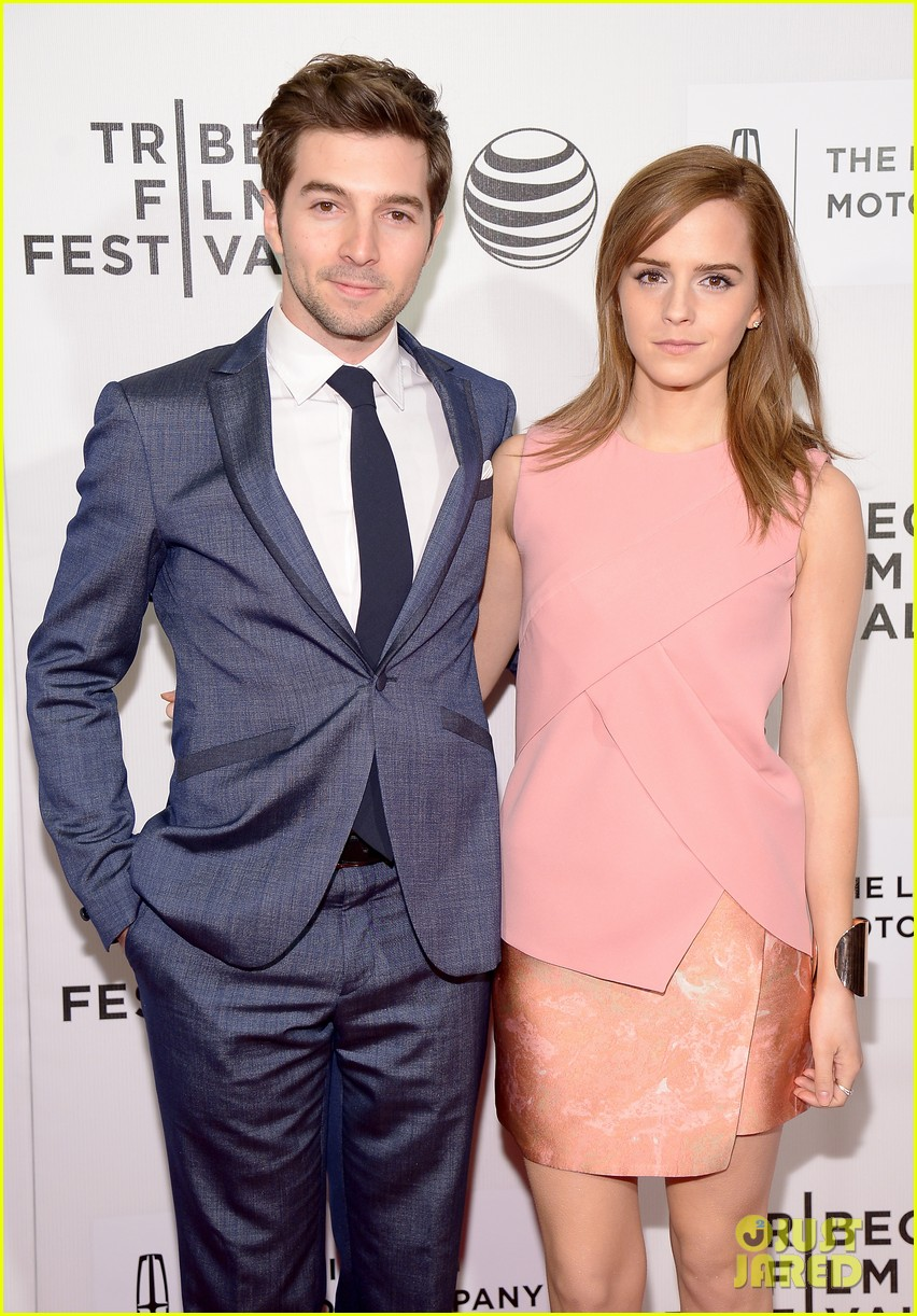 emma watson supports longtime friend roberto aguirre at boulevard tribeca premiere 01