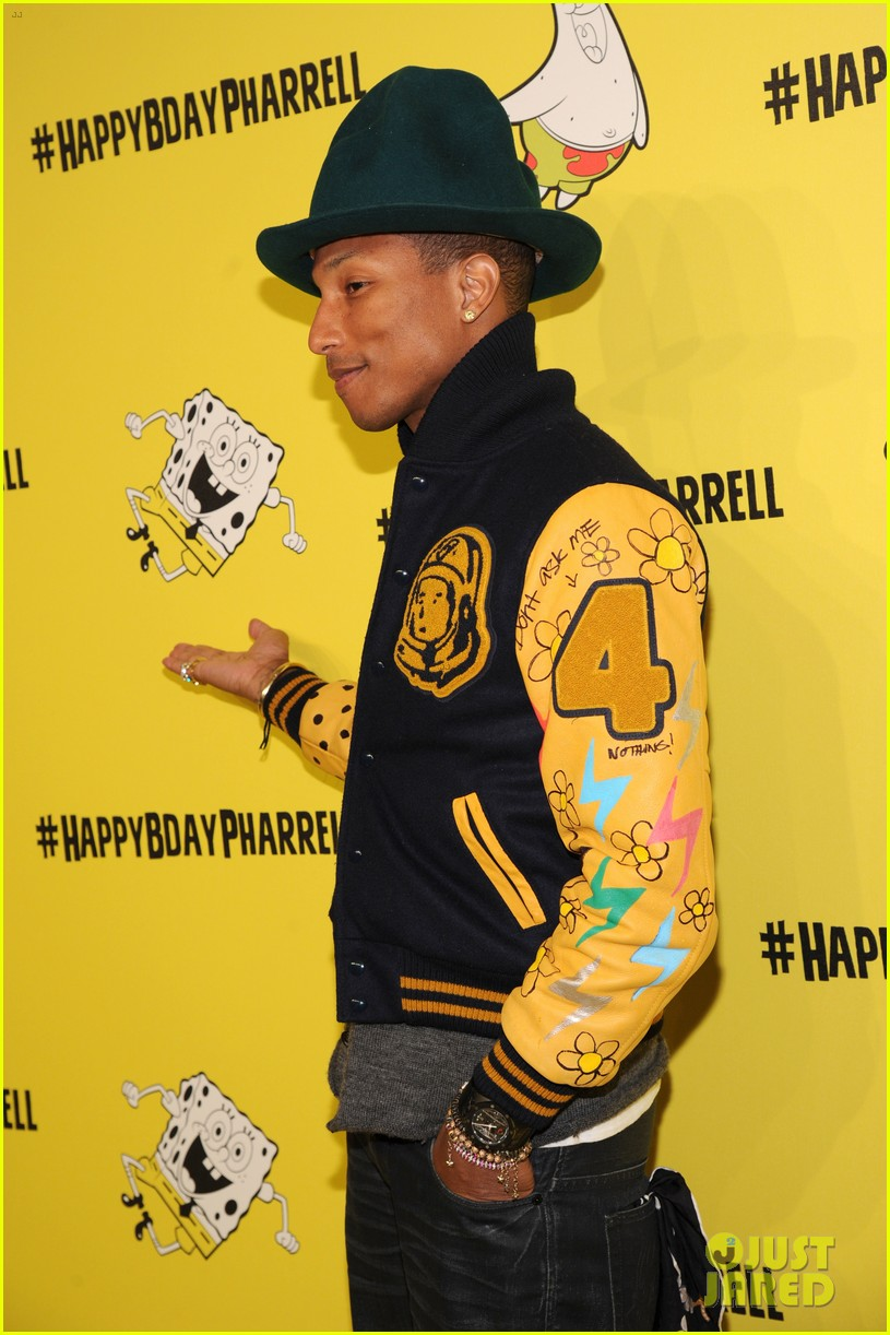 pharrell williams celebrates happy 41st birthday 073084835