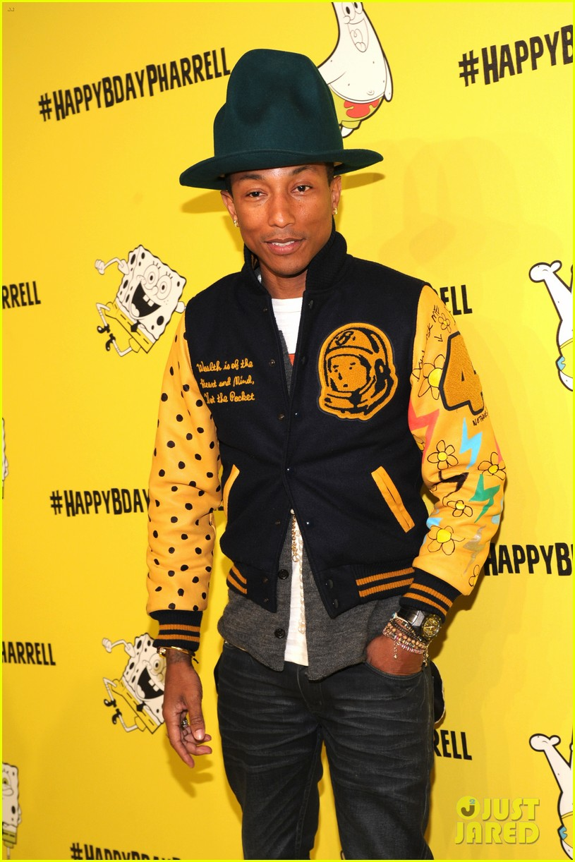 pharrell williams celebrates happy 41st birthday 083084836
