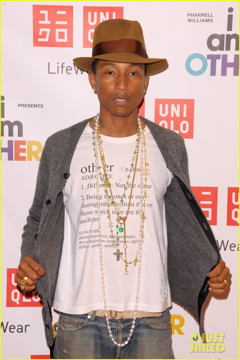 pharrell williams launches i am other collection at uniqlo 06