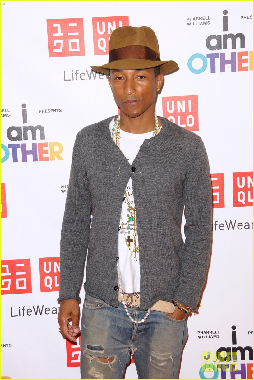 pharrell williams launches i am other collection at uniqlo 10