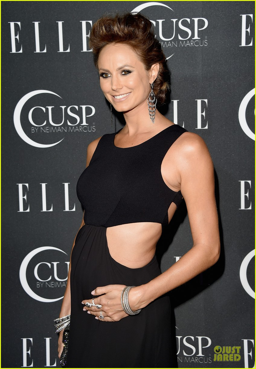 rumer willis cutout dress is sexy at elle music celebration 023097213