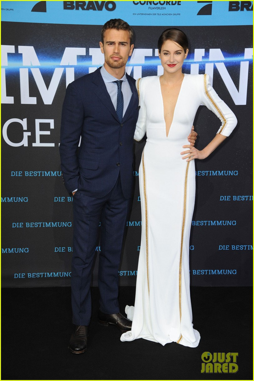 shailene woodley theo james bring divergent to germany 253082942