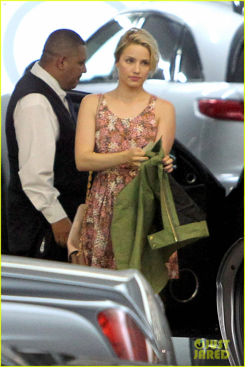 dianna agron braves los angeles heat lunch 12