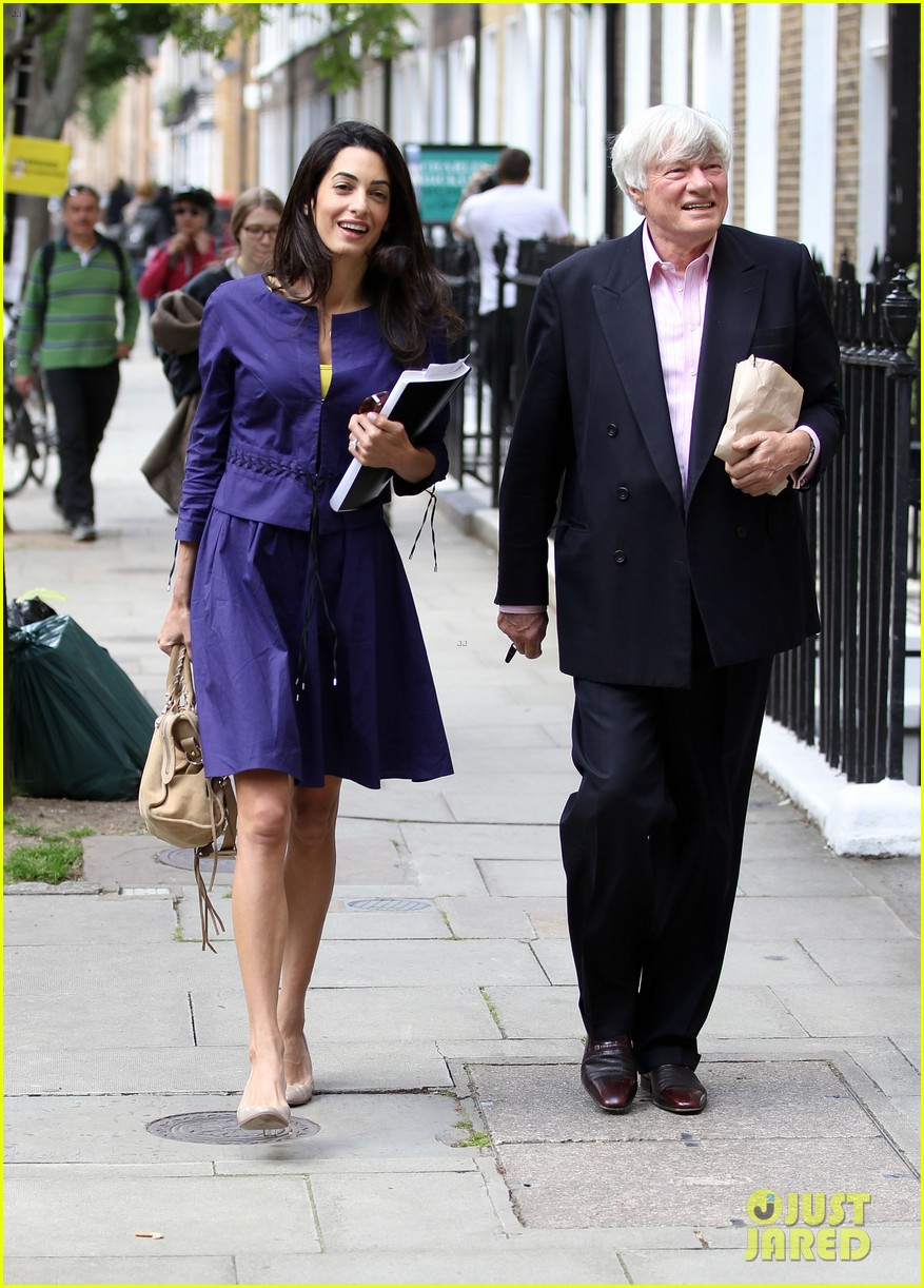 george clooneys fiancee amal alamuddin is back at work 143114483