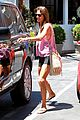alessandra ambrosio shows off her super long legs in spandex shorts 16