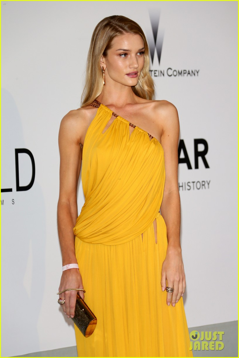 bar refaeli rosie huntington whiteley amfar gala 2014 12
