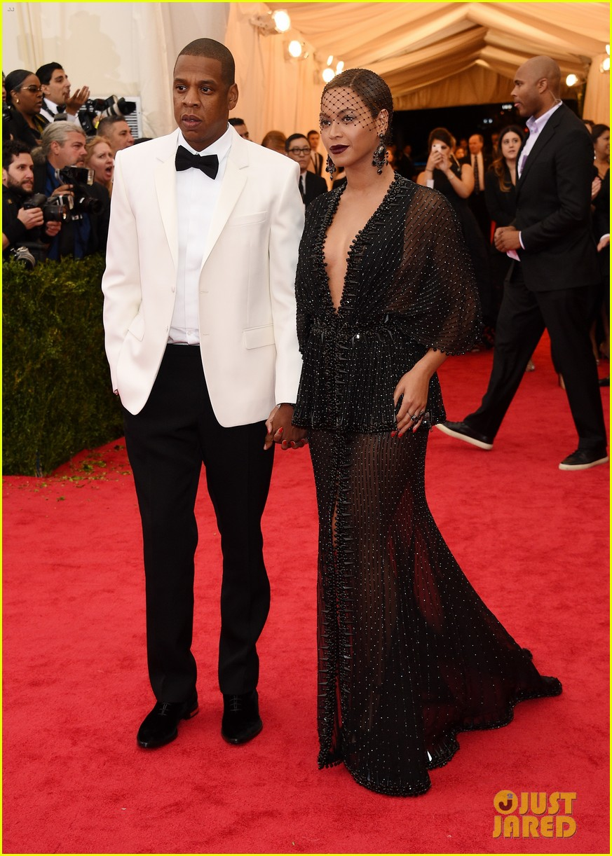 beyonce jay z ring met ball 2014 11
