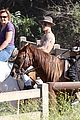 justin bieber shirtless horseback ride 11