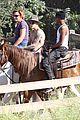 justin bieber shirtless horseback ride 12
