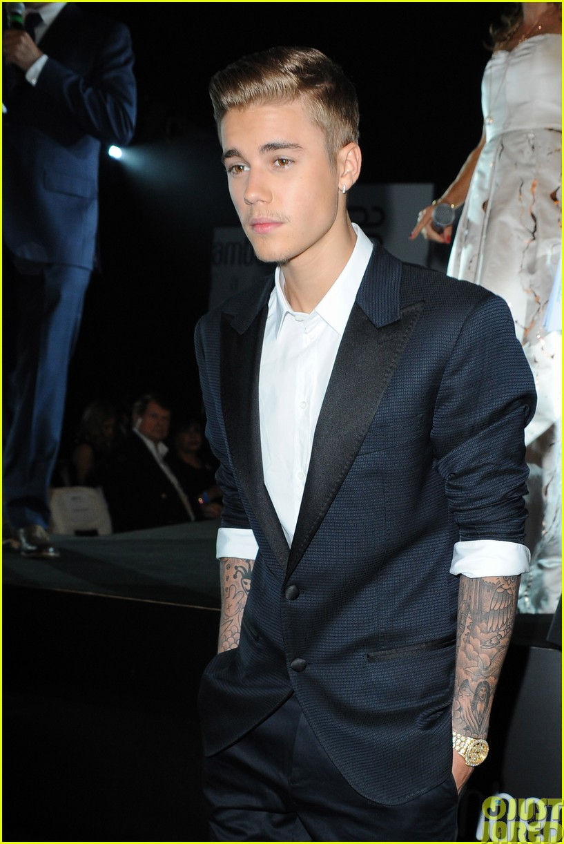 justin bieber and kellan lutz hang out at amber lounge 2014 gala in monaco033121056