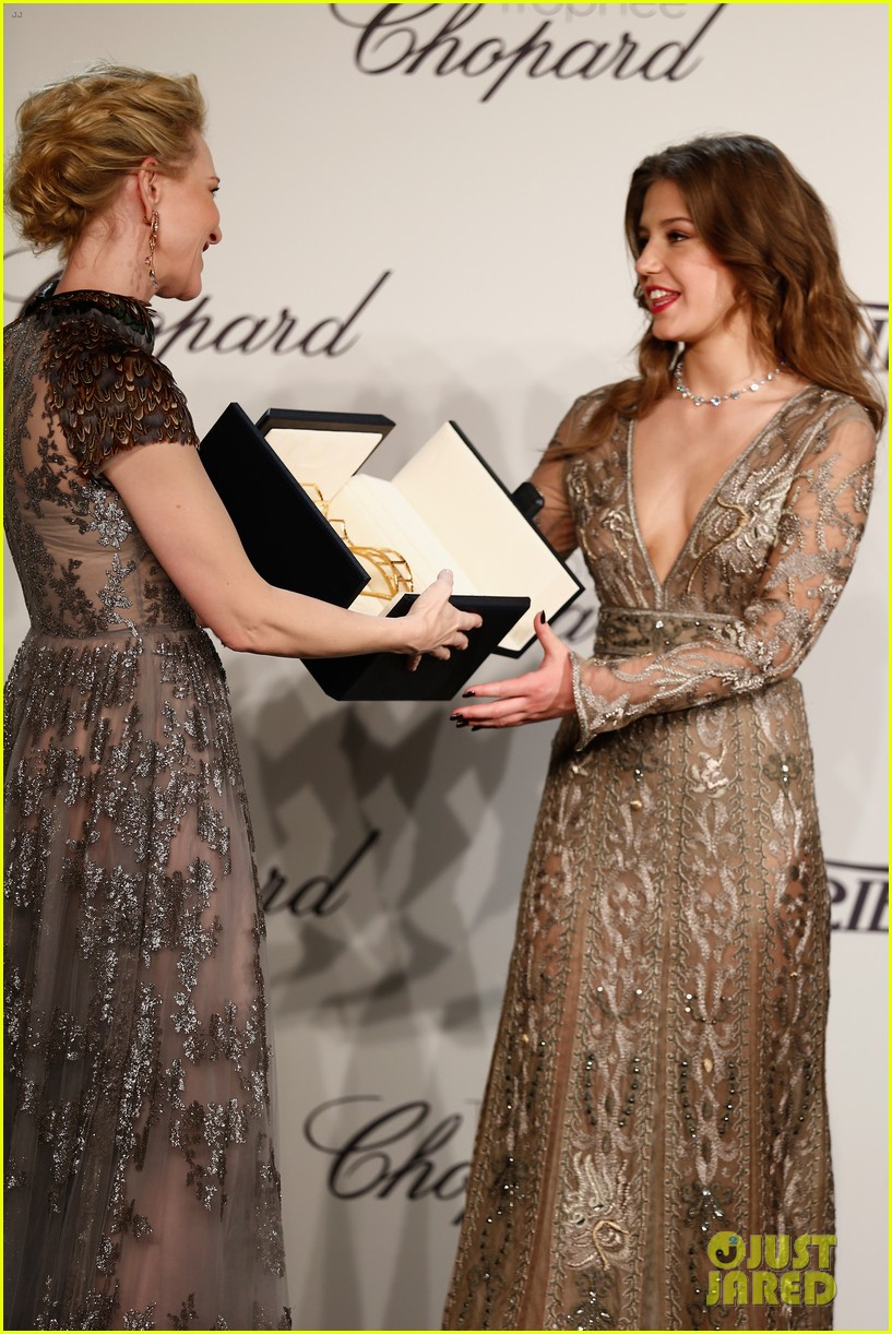cate blanchett honors young stars with chopard trophy 203114616