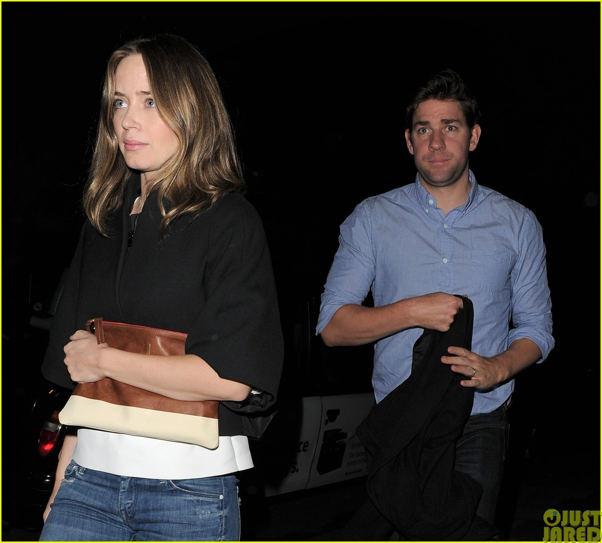 emily blunt and john krasinski hit the town with chris martin and jeremy renner423121103