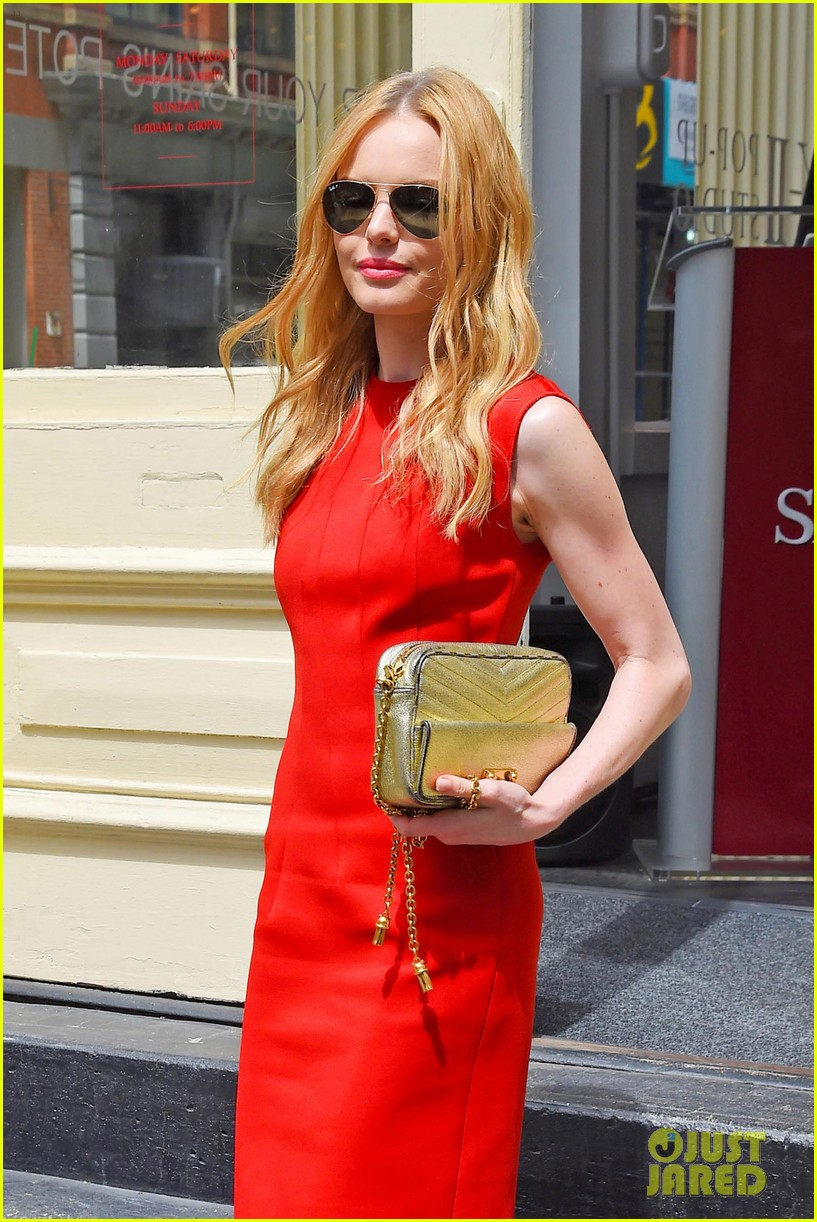 kate bosworth rocks three fashionable dresses for day out in nyc 103103727