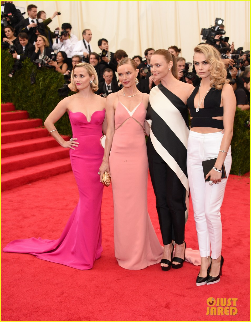 kate bosworth meets up with stella mccartneys other attendees at met ball 2014 02