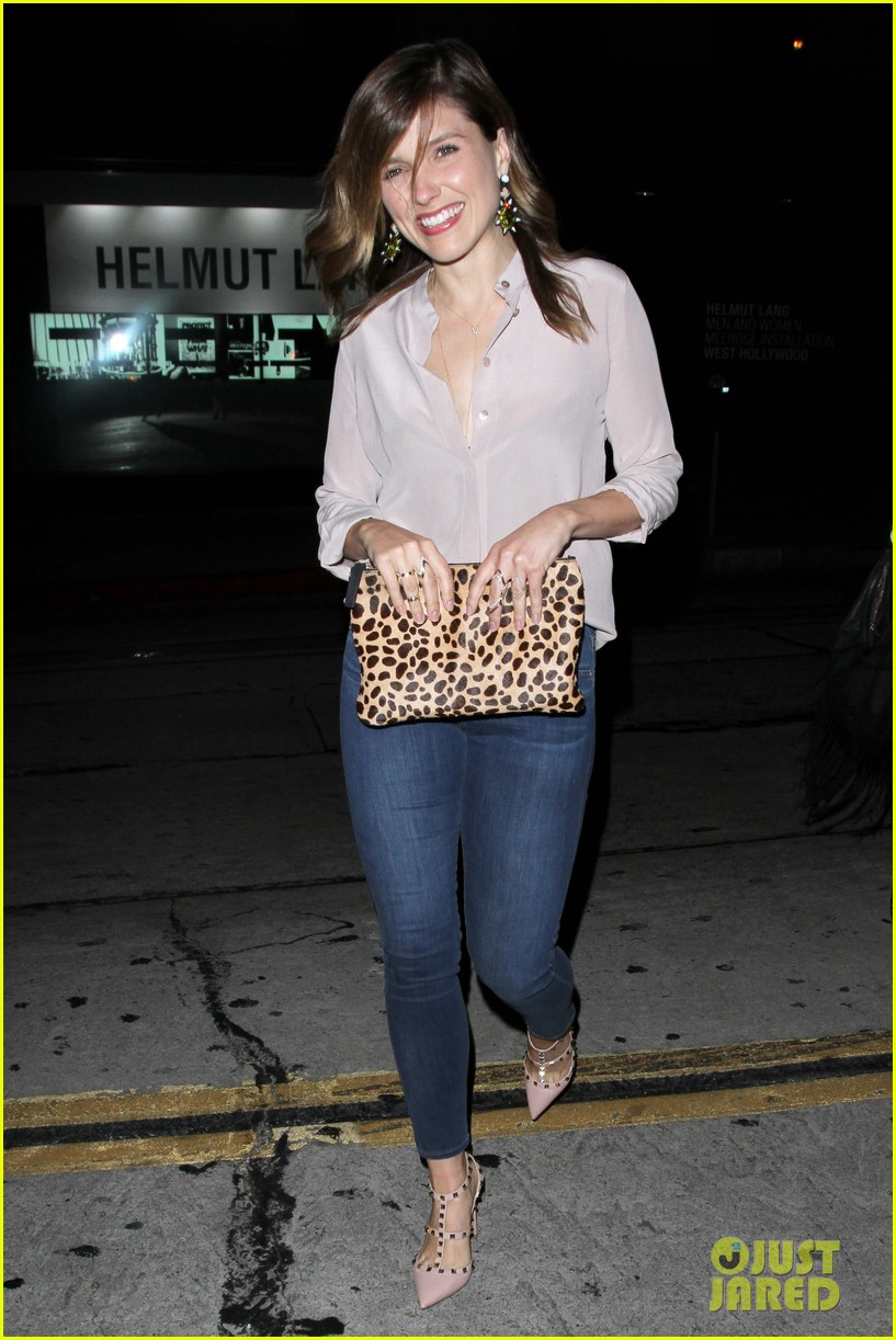sophia bush in awe bcbg retrospective exhibit 01