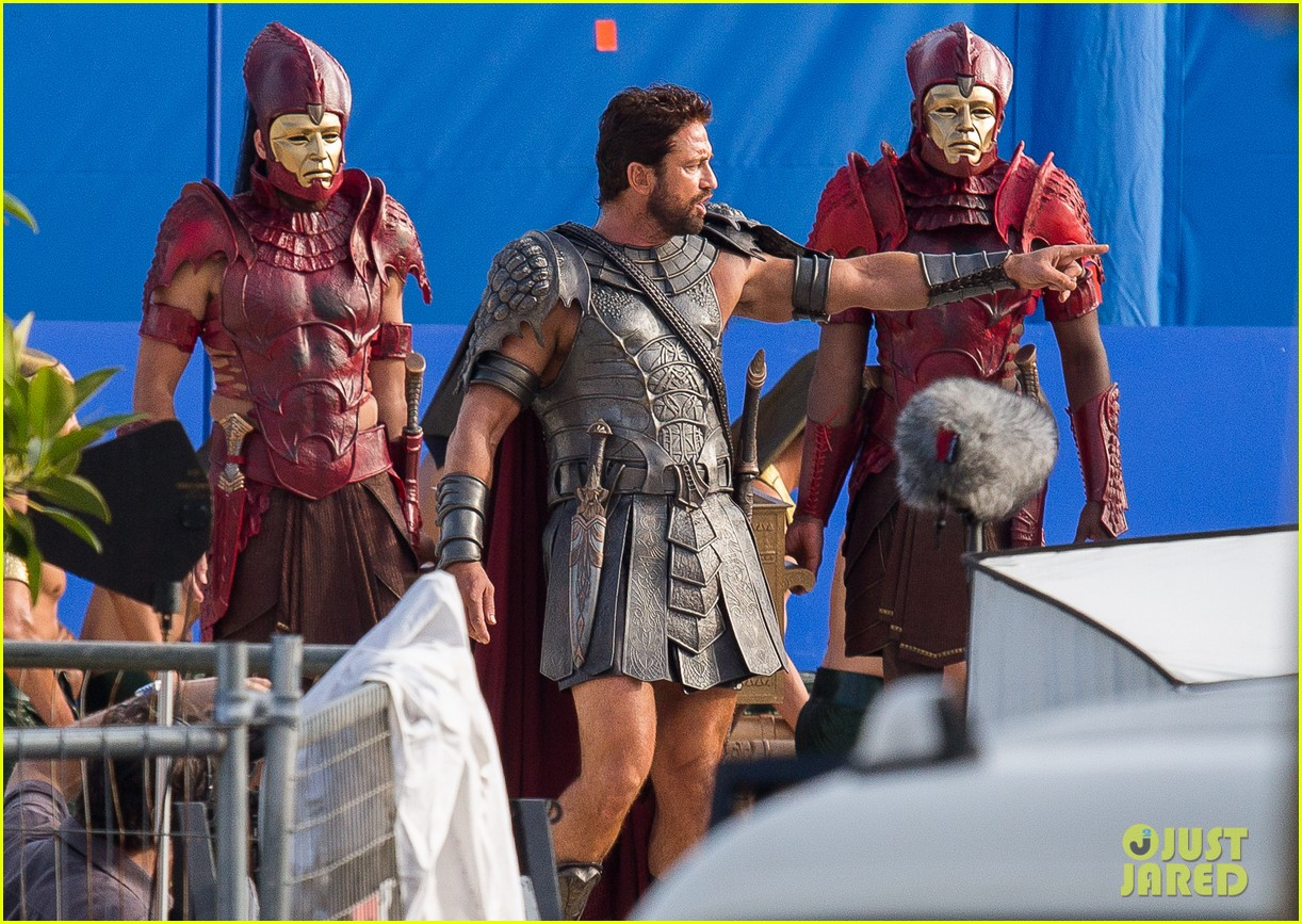 gerard butler gods of egypt filming 05
