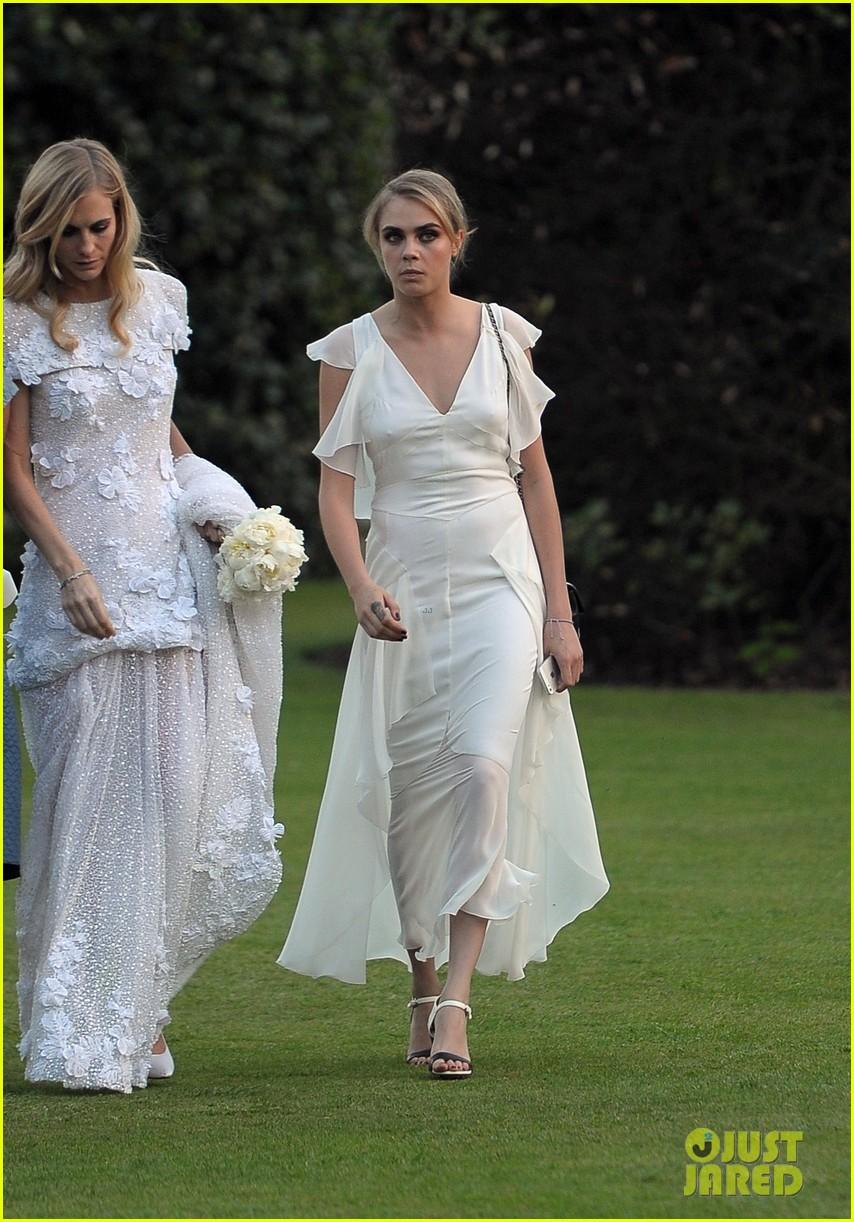 cara delevingne sister poppys wedding 25