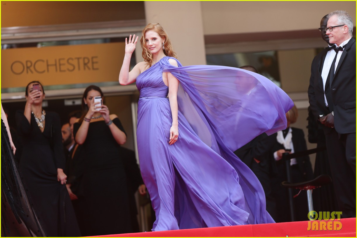 jessica chastain foxcatcher cannes premiere 03