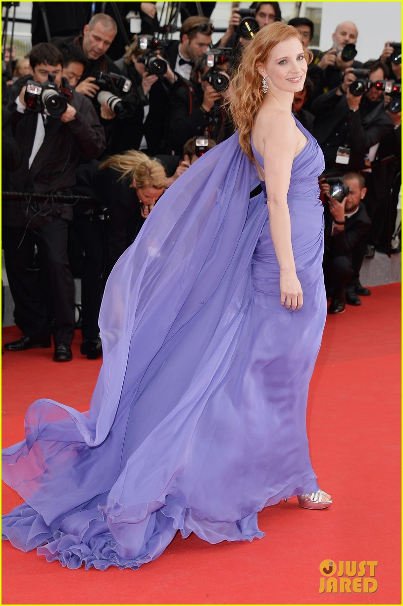 jessica chastain foxcatcher cannes premiere 13