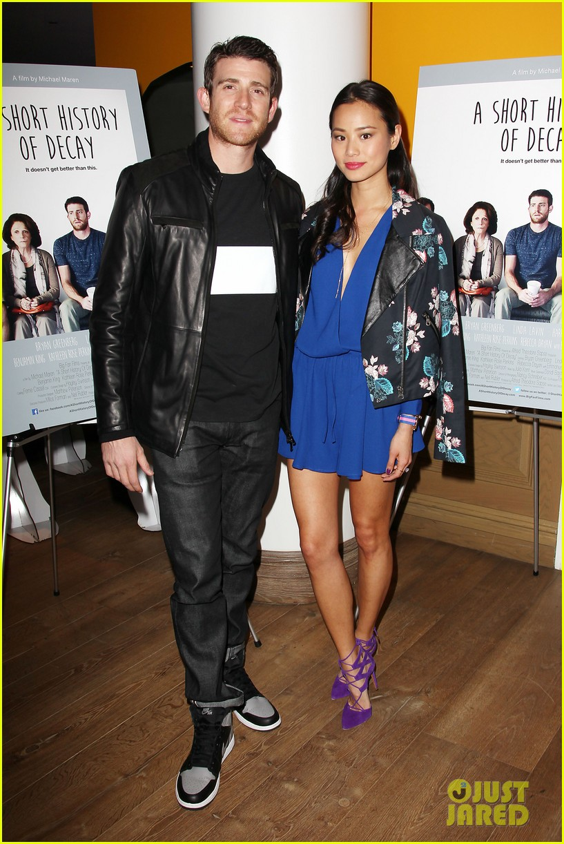 jamie chung supports bryan greenberg at short history of decay 083106780