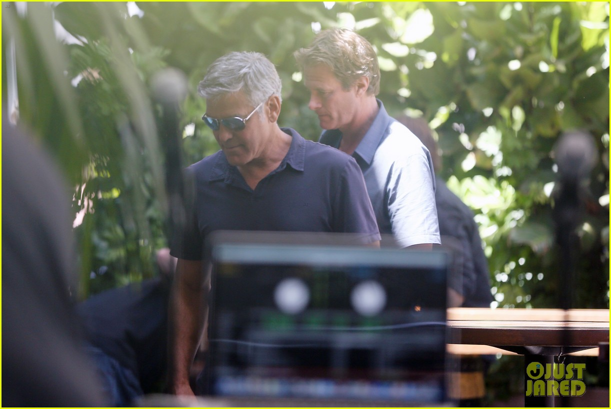 George Clooney & Amal Alamuddin Celebrate Their Engagement Surrounded By Celebrity Friends! George-clooney-celebrates-engagement-to-amal-alamuddin-surrounded-by-celebrity-pals-11