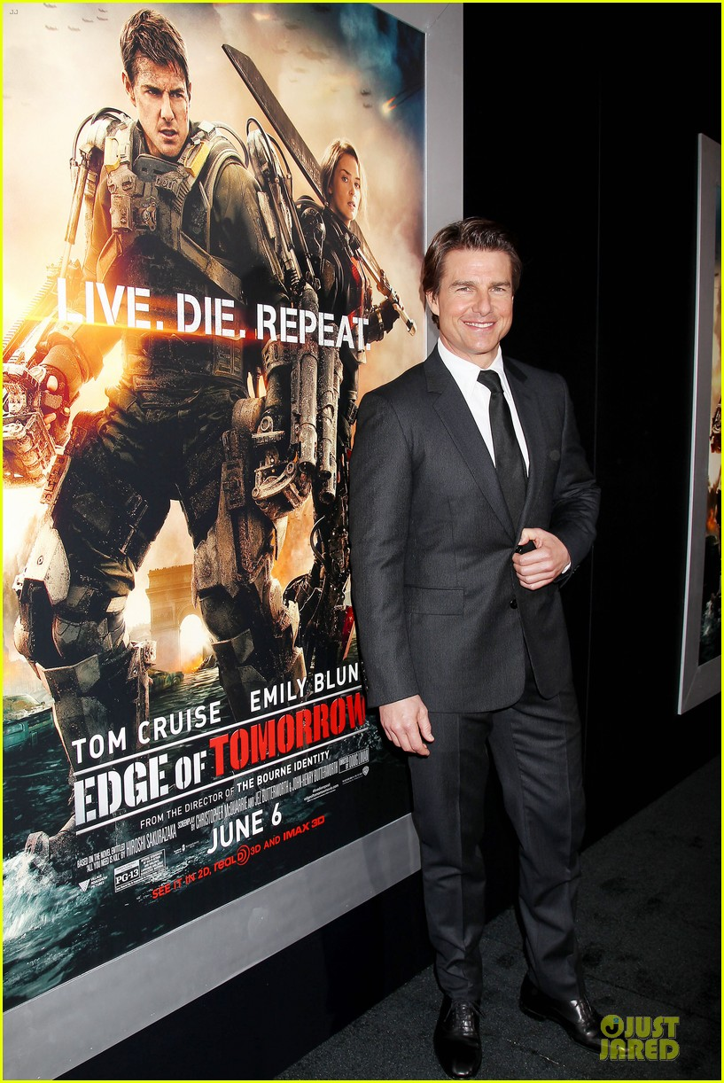 tom cruise emily blunt edge of tomorrow premiere final 053123589