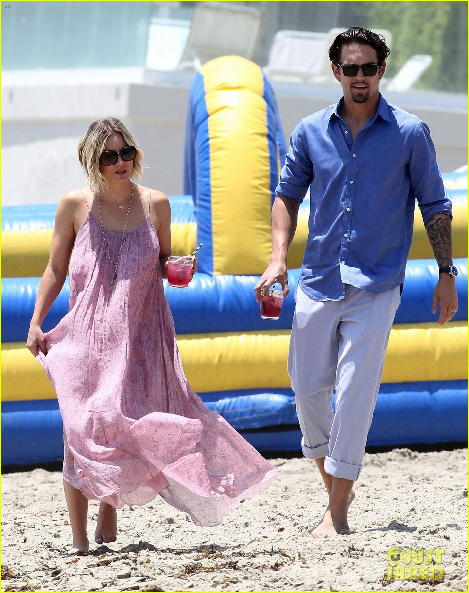 kaley cuoco hits up joel silvers memorial day party with ryan sweeting 23