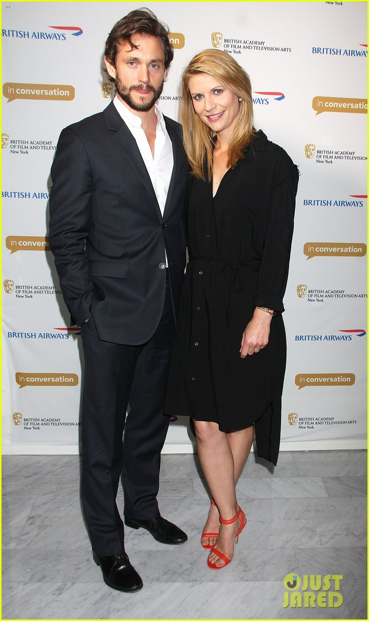 claire danes supports hubby hugh dancy at bafta conversation 05