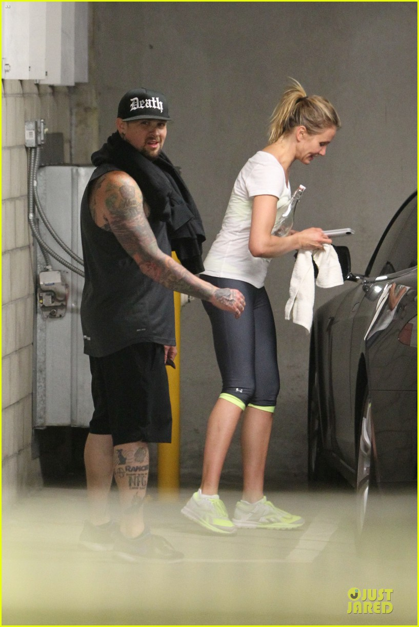 cameron diaz benji madden new couple alert 063115827