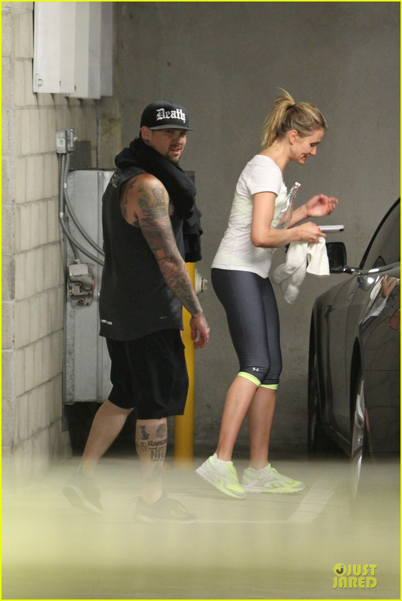cameron diaz benji madden new couple alert 18