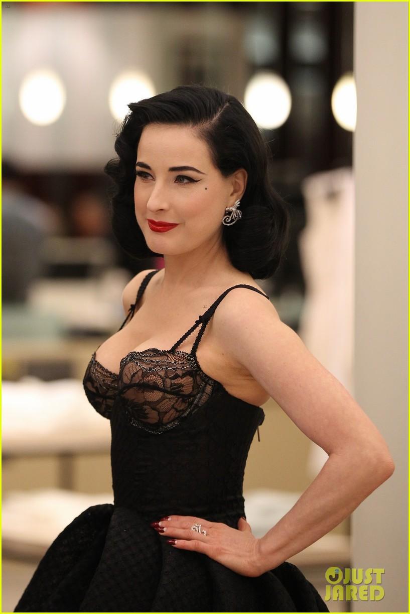 dita von teese new lingerie line bloomingdales 013116618