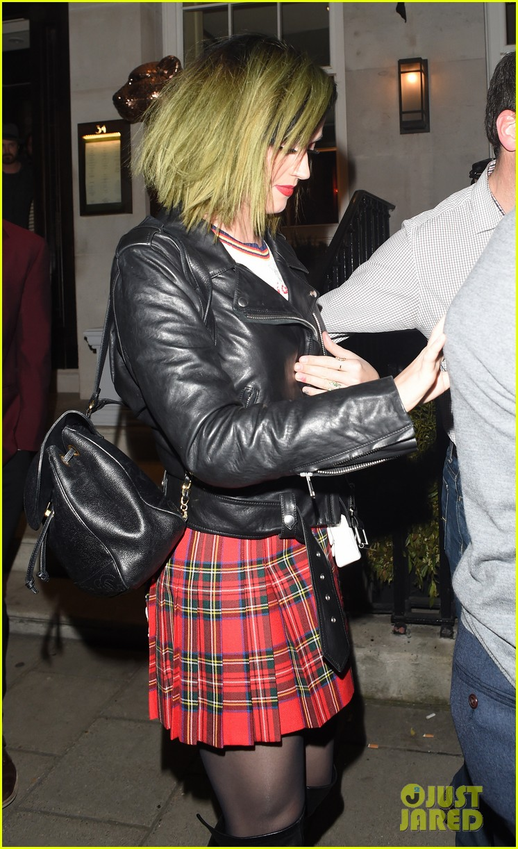 ellie goulding katy perry dine out together in london 09