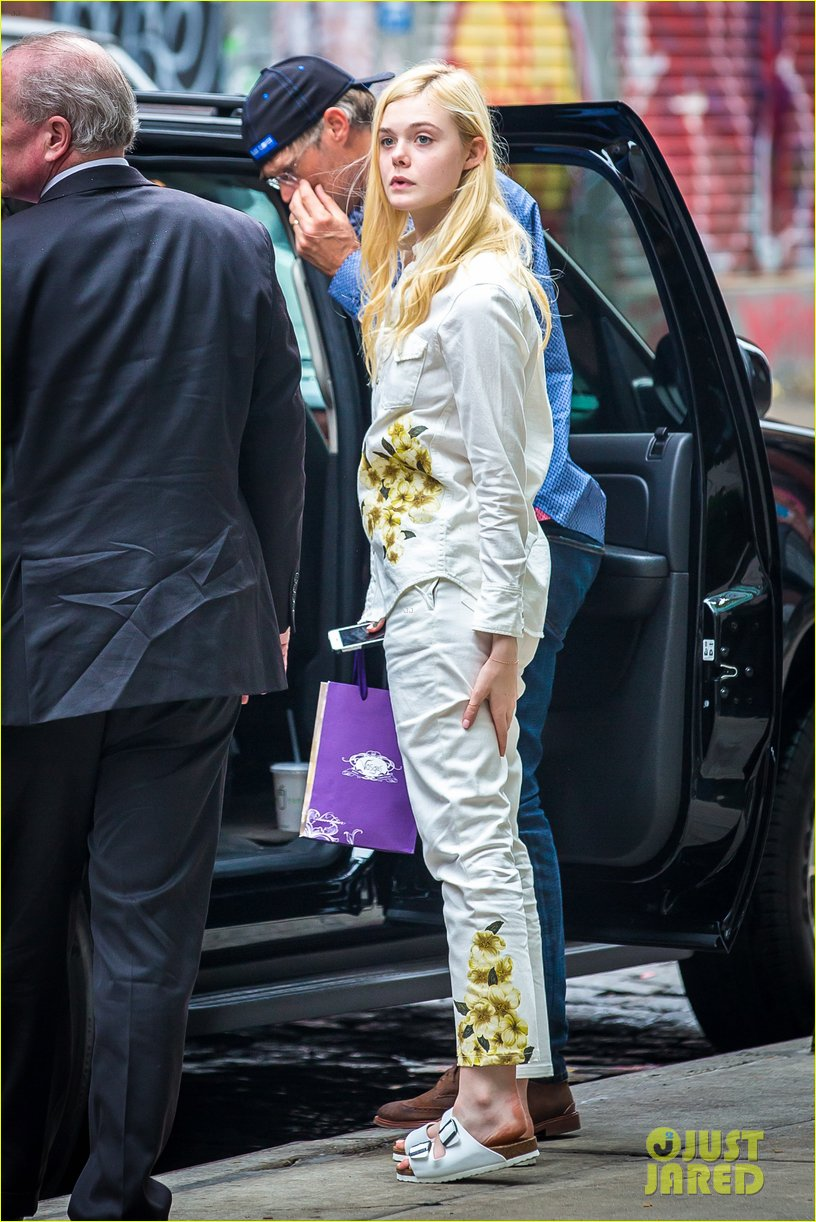 elle fanning soho eat 100 years 06